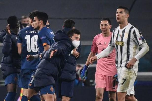 Aandeel Juventus onderuit na uitschakeling in Champions League