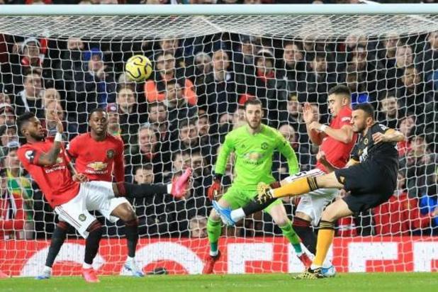 Belgen in het buitenland - Man Utd en Wolves houden elkaar in evenwicht