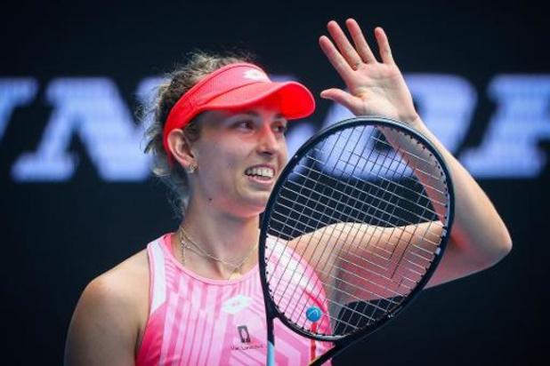 Australian Open: Elise Mertens gaat door naar tweede ronde