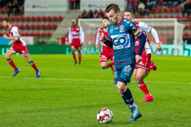 Kristof D'Haene verlengt contract bij KV Kortrijk