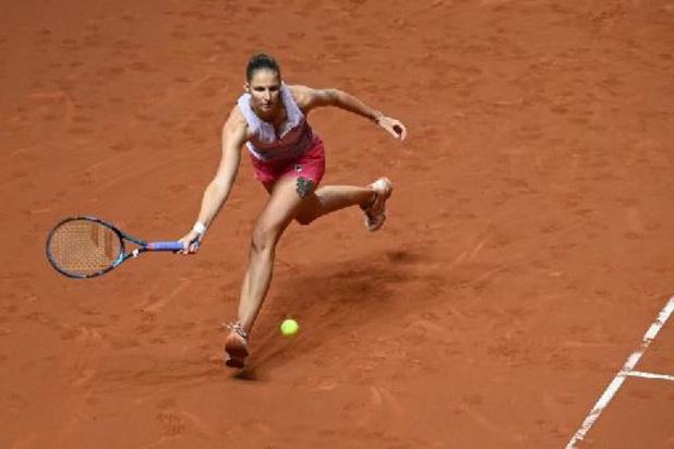 Karolina Pliskova rejoint Petra Martic en demi-finale