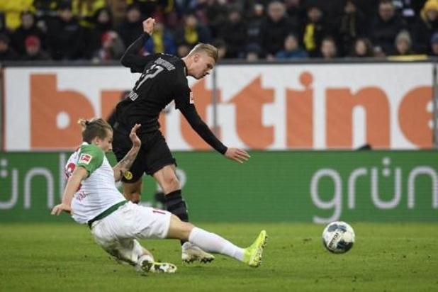 Dortmund renverse Augsbourg grâce à un triplé de Haaland et à deux passes de T. Hazard