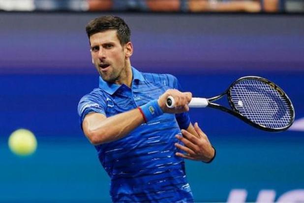 Novak Djokovic ne ferme pas la porte à l'US Open