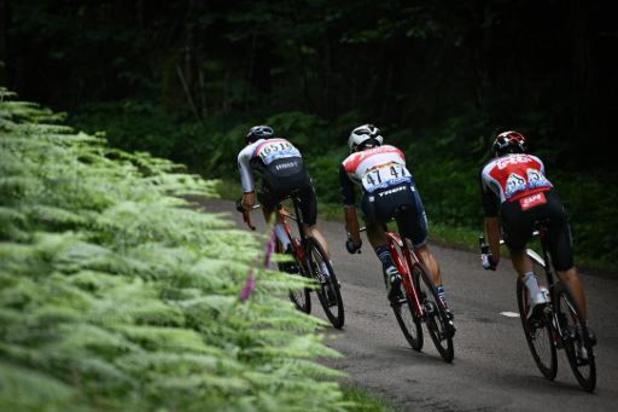 Tour de France: le peloton s'est élancé d'Oyonnax pour la 8e étape, la première dans les Alpes
