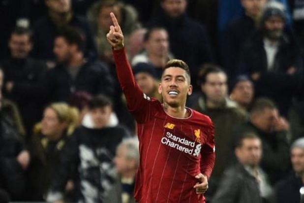 Belgen in het buitenland - Ook Tottenham kan pletwals Liverpool niet afstoppen
