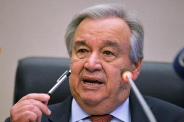 Le chef de l'ONU dénonce la sous-représentation des femmes dans les processus de paix