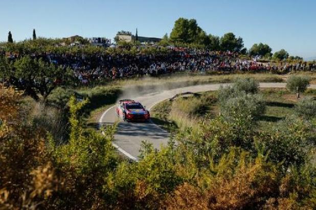 Sébastien Ogier en lice pour un 8e sacre mondial sur l'asphalte catalane