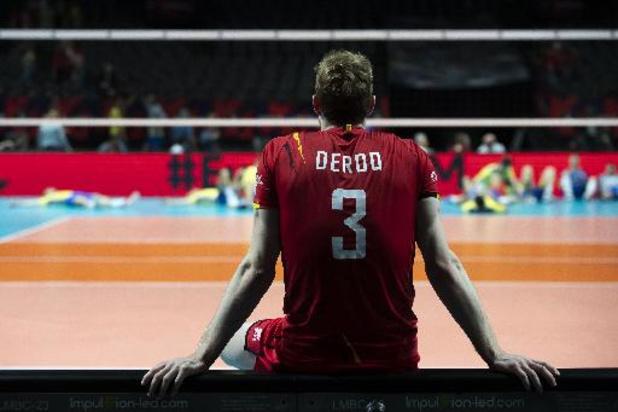 EK volley (m) - Red Dragons verliezen in laatste groepswedstrijd 3-1 van Oekraïne