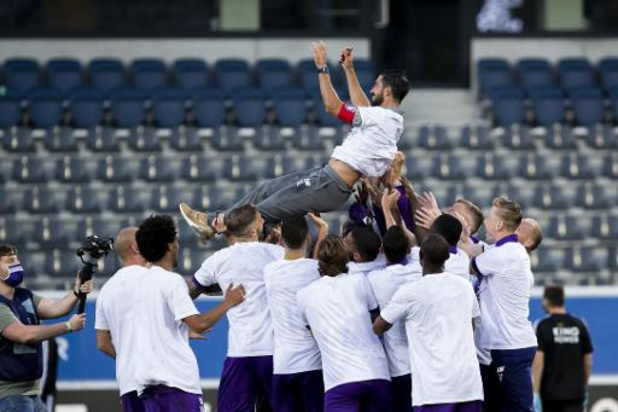 """Proximus League - Le Beerschot méritait le titre en 1B """"plus que n'importe quelle équipe"""" Hernan Losada"""