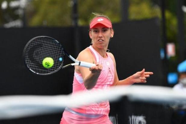 Elise Mertens en 8e de finale