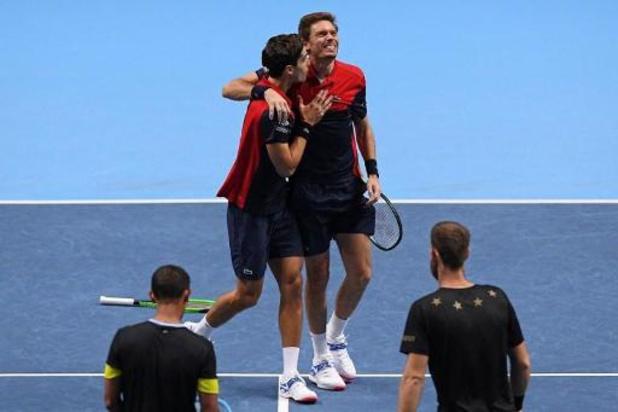 ATP Finals - Fransen Herbert en Mahut vervolledigen palmares