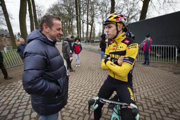 Jumbo-Visma neemt Wout van Aert op in selectie