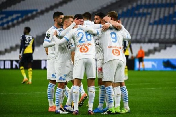 Ligue 1 - Marseille bat Monaco et met la pression sur Paris