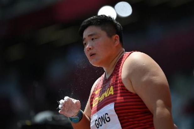 OS 2020 - Chinese Gong Lijiao wint kogelstoten