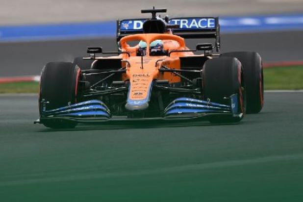 Daniel Ricciardo (McLaren) partira en fond de grille