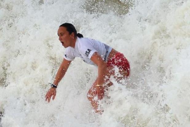 L'Américaine Carissa Moore devient la première championne olympique de surf de l'histoire