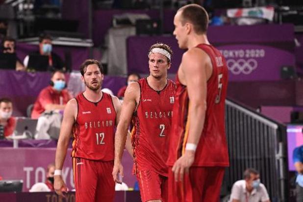 Euro de basket 3x3 - Les Lions 3x3 éliminés en phase de groupes après une défaite contre la Serbie