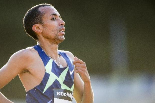 FBK Games Hengelo - Ismael Debjani finisht vijfde op 1.500 meter en doet gouden zaak op olympische ranking