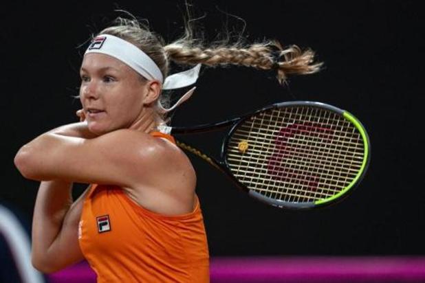 Kiki Bertens en finale à Saint-Pétersbourg avant d'affronter Kim Clijsters à Dubaï