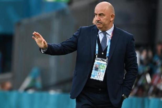 Euro 2020 - Stanislav Cherchesov ne blâme pas ses joueurs après l'élimination de la Russie