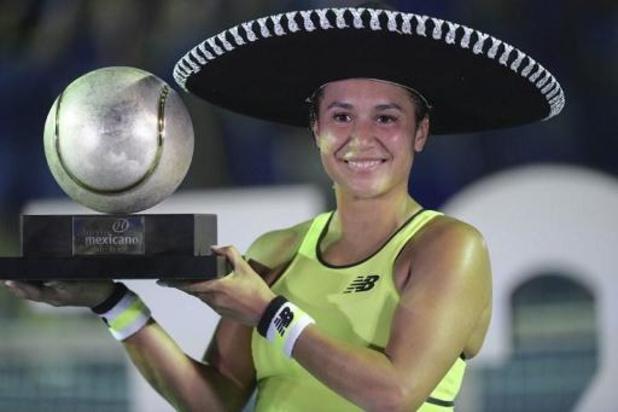 WTA Acapulco - Heather Watson s'offre un quatrième titre