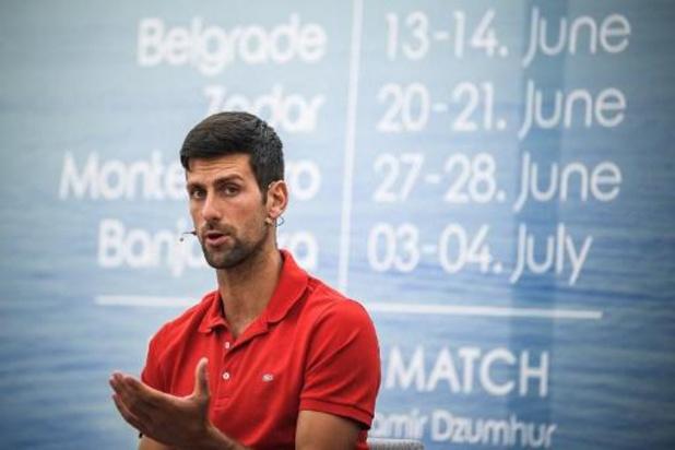 "Coronavirus - Novak Djokovic, ""profondément désolé"", reconnait avoir ""eu tort"" d'organiser l'Adria Tour"