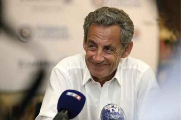 """Sarkozy """"verbaasd"""" dat hij in staat van beschuldiging wordt gesteld in Libië-affaire"""