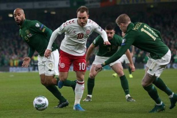 Ligue des Nations: Danemark dévoile sa sélection pour le match contre la Belgique