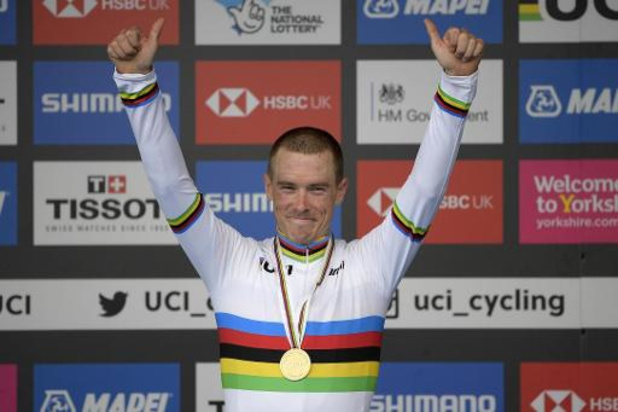 Rohan Dennis vainqueur de la 1e étape du Tour de Suisse virtuel, Remco Evenepoel 7e