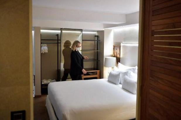 En Belgique, les nuitées en hébergement touristique ont diminué de moitié en 2020