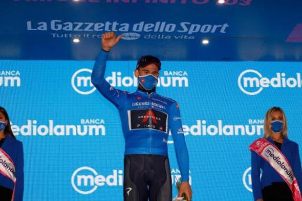 """Filippo Ganna: """"Niet makkelijk om 83 kilo omhoog te hijsen"""""""