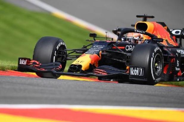 F1 - GP van België - Verstappen zet snelste tijd neer in tweede kwalificatiesessie