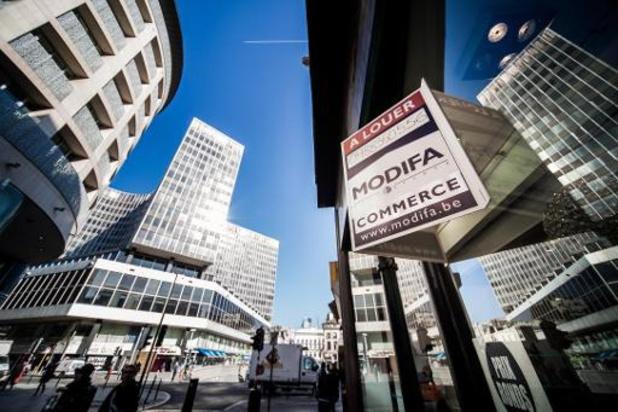 Meer dan miljoen vierkante meter kantoorruimte staat leeg in Brussel