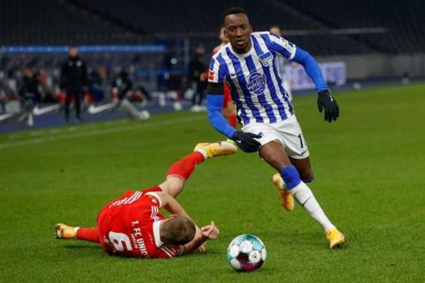 Les Belges à l'étranger - Le Hertha Berlin, avec Boyata et Lukebakio, remporte le derby contre l'Union Berlin