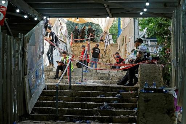 """Massahysterie bij bedevaart Israël, reddingsdiensten spreken van """"nationale ramp"""""""