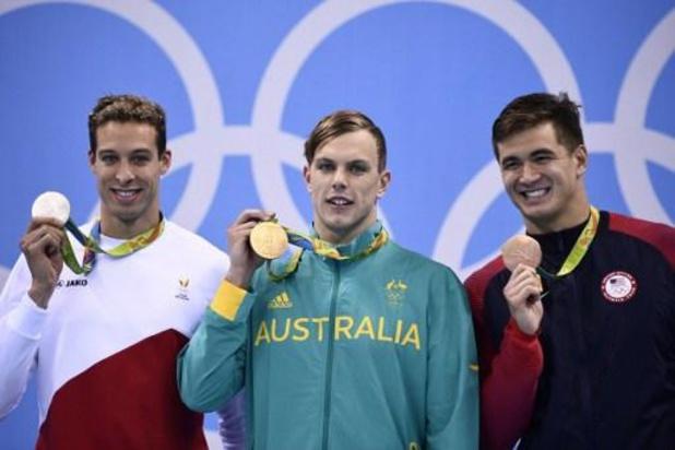 """Kyle Chalmers, die Timmers van olympisch goud hield, """"wantrouwt helft van concurrenten"""""""