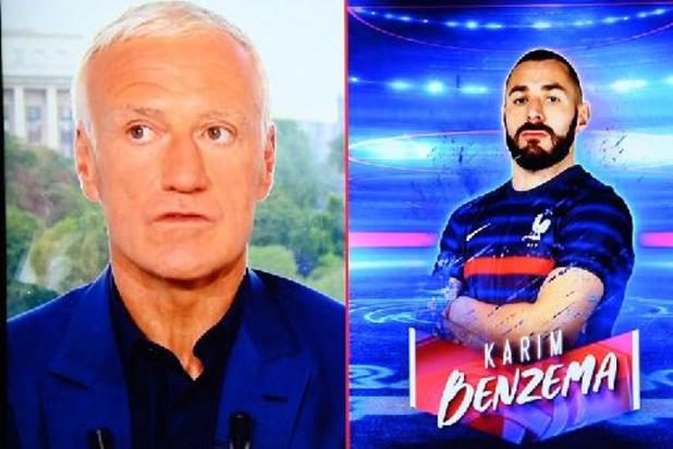Benzema over de reünie met Deschamps: 'Na drie minuten was het weer zoals vroeger'