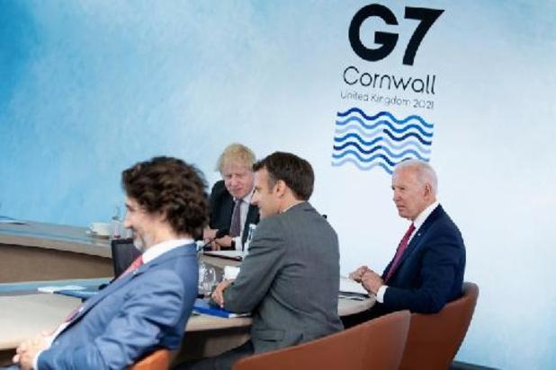 Le G7 s'accorde sur la pandémie et riposte à la Chine