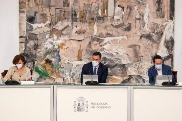 Spaanse regering roept sanitaire noodtoestand uit