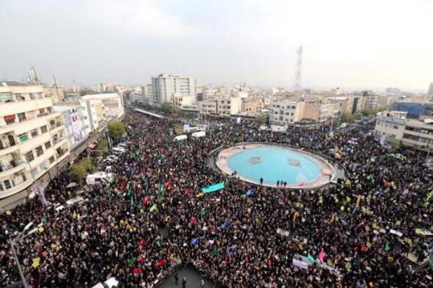 """Les autorités """"dissimulent"""" l'ampleur de la répression en Iran"""