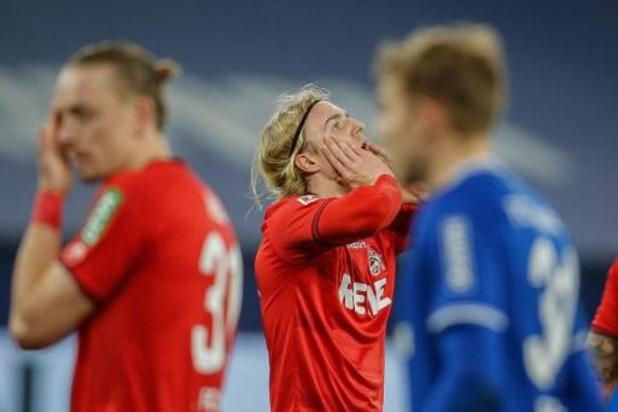 Les Belges à l'étranger - Le FC Cologne, avec Bornauw, sèchement battu à Hoffenheim