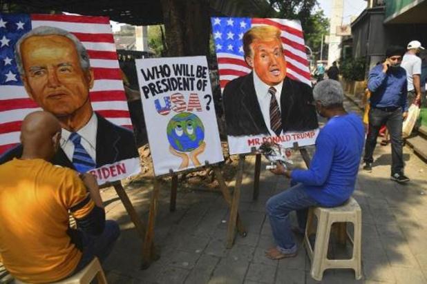 Amerikaanse presidentsverkiezingen - Biden favoriet bij Vlaamse partijen