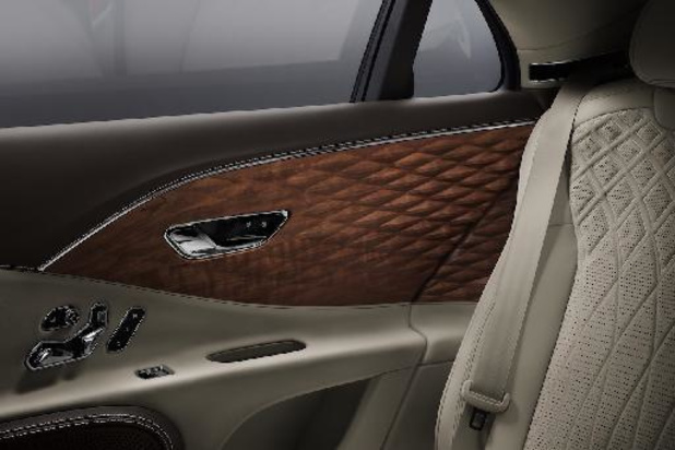 Bentley lanceert houtinleg met 3D-effect