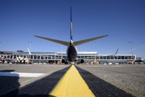 Baisse de 86% du trafic passagers en janvier à l'aéroport de Charleroi