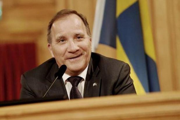 Löfven opnieuw premier Zweden