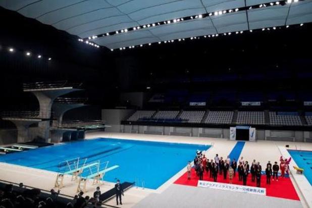 OS 2020 - Tokio opent olympisch zwemstadion