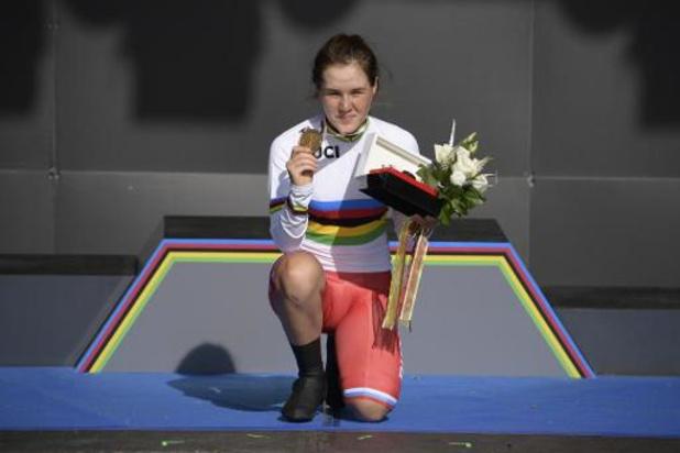 Malgré une erreur de parcours, la Russe Gareeva gagne le chrono juniores