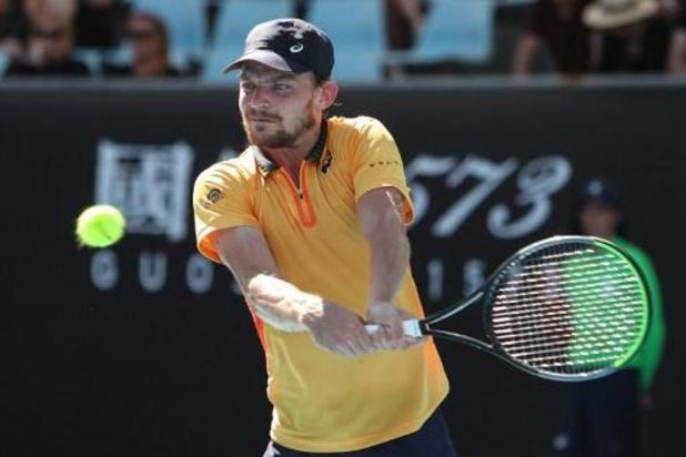 David Goffin sorti dès le premier tour de l'Open d'Australie à Melbourne