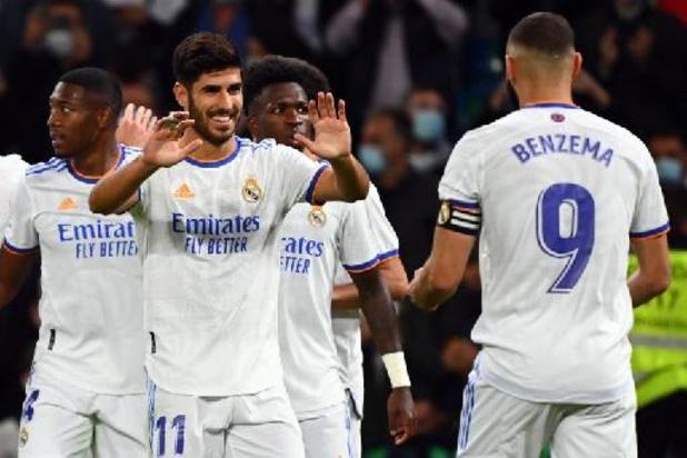 Les Belges à l'étranger - Le Real Madrid s'impose facilement contre le promu Majorque, Eden Hazard reste sur le banc