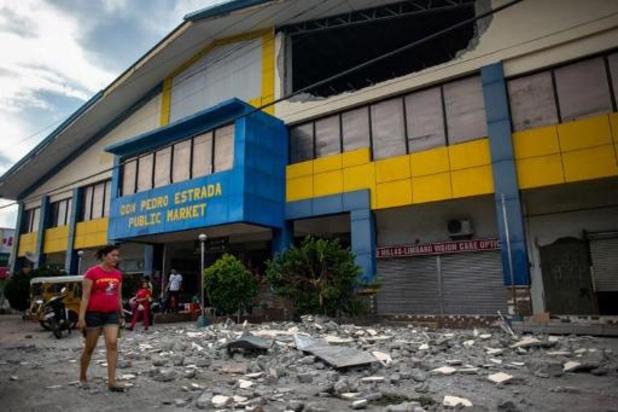 Vijf doden na aardbeving in Filipijnse regio Mindanao